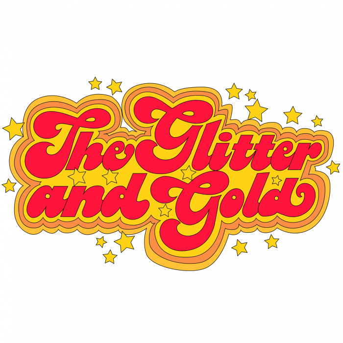 The Glitter and Gold Logo